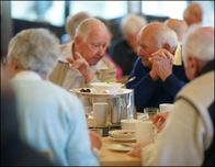 If you have early stage Alzheimer's or dementia, our Memory Lane Cafe can offer support. PHOTO: Karen Mayo.
