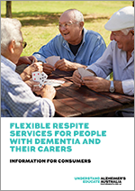 Consumer companion guide: diagnosis, treatment and care for people with dementia