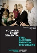 Cover of Discussion Paper Younger Onset Dementia - Still falling through the cracks
