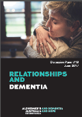 Cover page Relationships and Dementia Discussion Paper