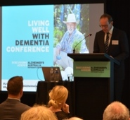 Presenter at the Living well with dementia conference