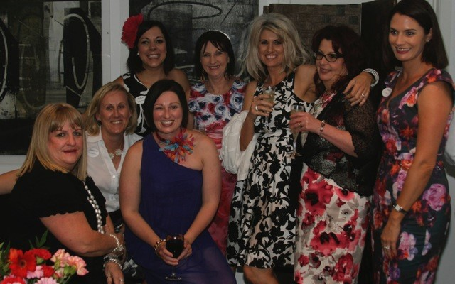 Guests at the Fabulously Floral Girls Night fundraiser in Toowoomba