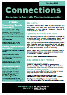 Connections newsletter cover May June 2016