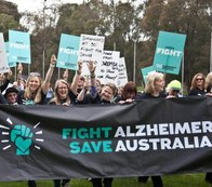 Fight Dementia campaigners
