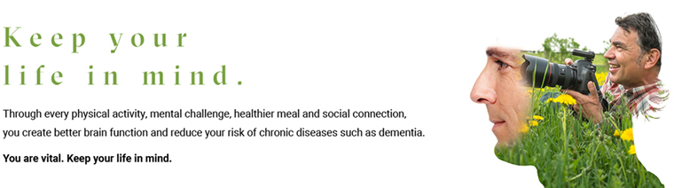 Keep your life in mind - dementia risk reduction program