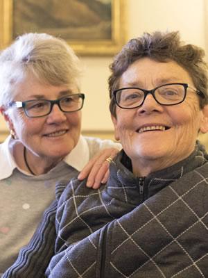 Edie Mayhew and Anne Tudor