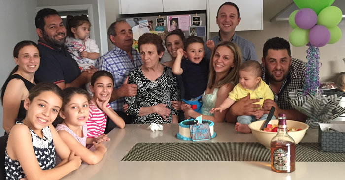 Ellie, Maria and family