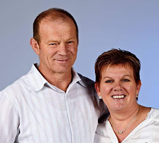 Lynne and Rod McGregor