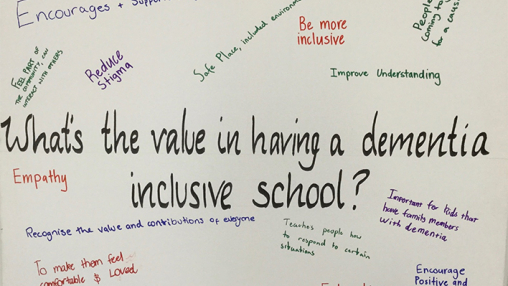 What's the value in having a dementia inclusive school?